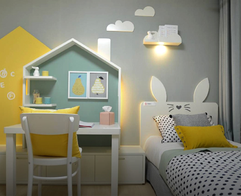 Kids Bedroom Ideas mood board
