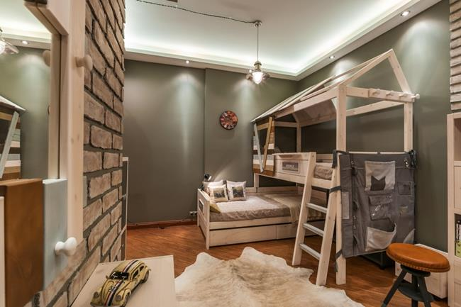 Kids Bedroom Ideas Tips For Twin Beds Boys Loft Style Children S Room