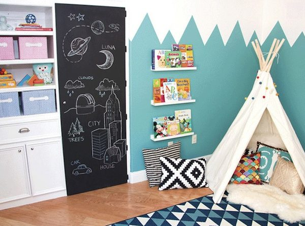 10 Playful Kids Bedroom Ideas with Teepees Inside ➤ Discover the season's newest designs and inspirations for your kids. Visit us at kidsbedroomideas.eu #KidsBedroomIdeas #KidsBedrooms #KidsBedroomDesigns @KidsBedroomBlog