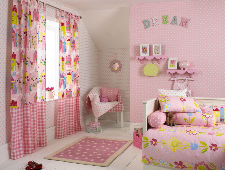 6 Marvelous Curtains For Kids Bedrooms