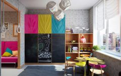 The Most Perfect Studying Areas For Kids Rooms ➤ Discover the season's newest designs and inspirations for your kids. Visit us at kidsbedroomideas.eu #KidsBedroomIdeas #KidsBedrooms #KidsBedroomDesigns @KidsBedroomBlog