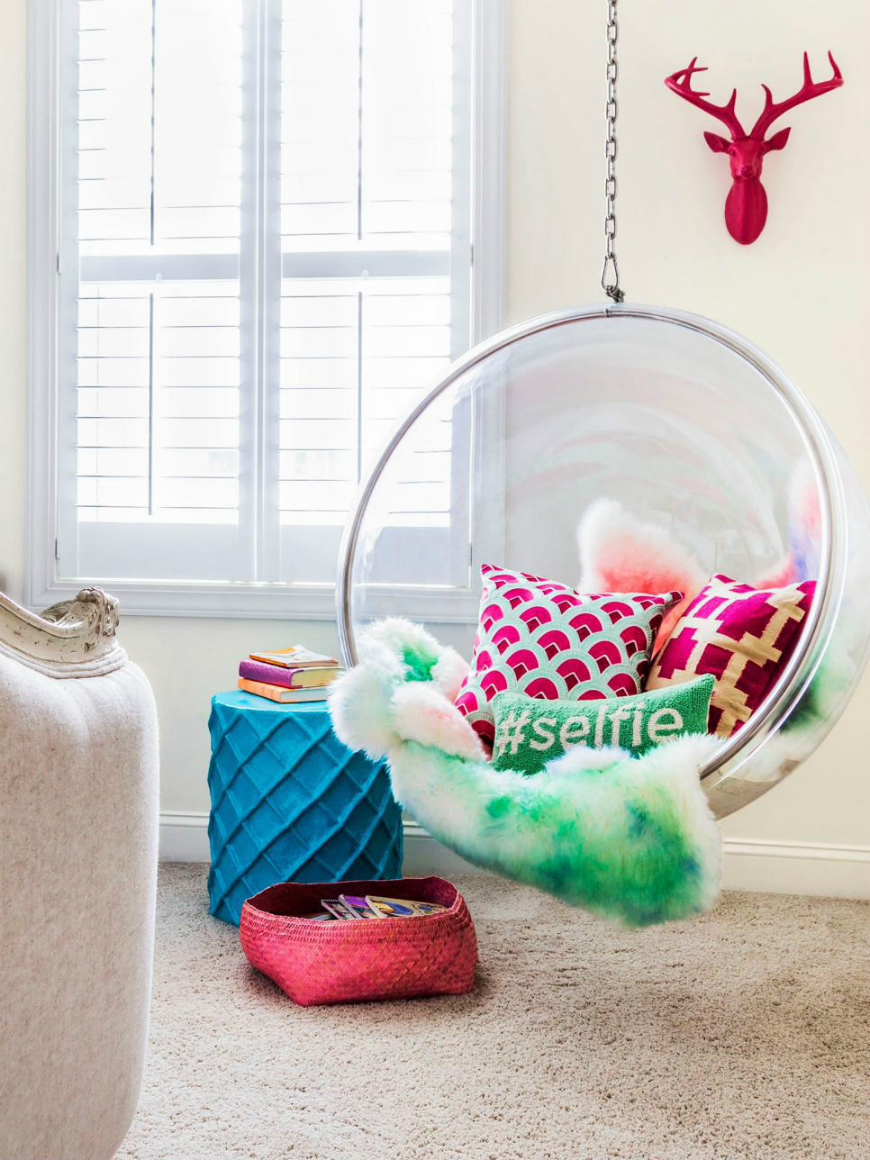 Kids Bedroom Furniture: Cute Chairs For Girl's Room