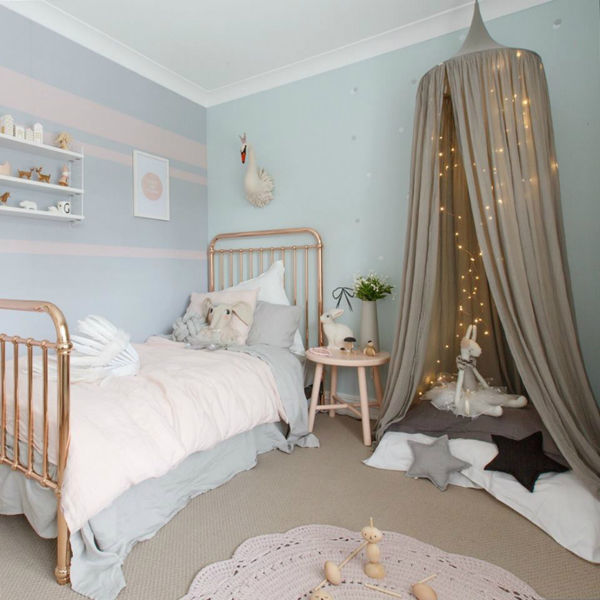 Pastel Colors Kids Room: Spring Trends 2019: The Best Pastel Kids Room Ideas To