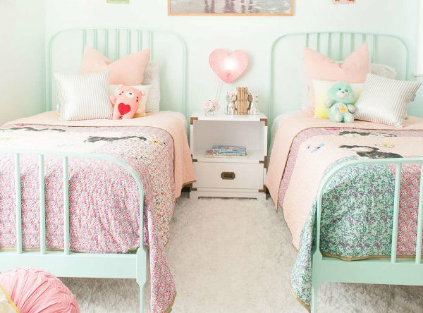 Spring Trends 2017: The Best Pastel Kids Room Ideas to Inspire You ➤ Discover the season's newest designs and inspirations for your kids. Visit us at kidsbedroomideas.eu #KidsBedroomIdeas #KidsBedrooms #KidsBedroomDesigns @KidsBedroomBlog