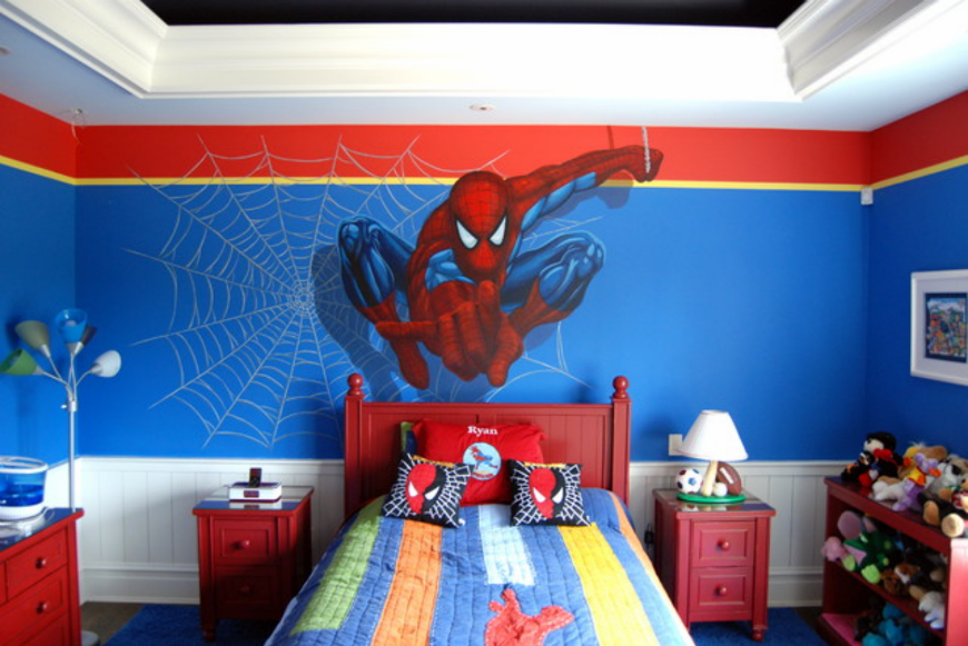Superhero Room Decorating Ideas Tyres2c