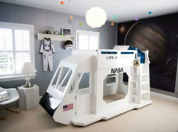 Get the Look: How to Create the Perfect Astronaut-inspired Bedroom ➤ Discover the season's newest designs and inspirations for your kids. Visit us at www.kidsbedroomideas.eu #KidsBedroomIdeas #KidsBedrooms #KidsBedroomDesigns @KidsBedroomBlog