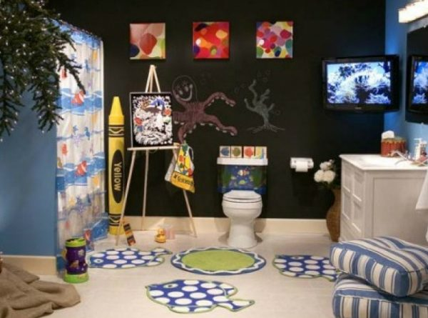 Awesome Kid's Bathroom Decorating Ideas To Inspire You ➤ Discover the season's newest designs and inspirations for your kids. Visit us at www.kidsbedroomideas.eu #KidsBedroomIdeas #KidsBedrooms #KidsBedroomDesigns @KidsBedroomBlog Kid's Bathroom Decorating Ideas Awesome Kid's Bathroom Decorating Ideas To Inspire You Awesome Kid   s Bathroom Decorating Ideas To Inspire You Cover 600x445