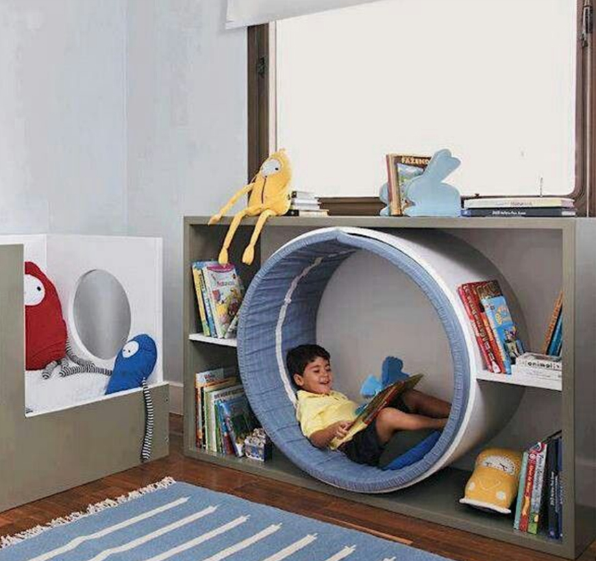 Incredible Reading Nooks For Kids That All Family Will Love ➤ Discover the season's newest designs and inspirations for your kids. Visit us at www.kidsbedroomideas.eu #KidsBedroomIdeas #KidsBedrooms #KidsBedroomDesigns @KidsBedroomBlog reading nooks for kids Incredible Reading Nooks For Kids That All Family Will Love Incredible Reading Nooks For Kids That All Family Will Love 2