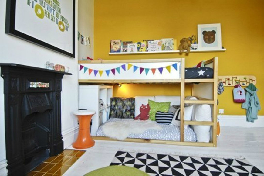 Décor Trends 2017: Check These Awesome Kids Bedroom Fireplace ...