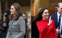 Kate Middleton Kate Middleton is Slaying With her Maternity Outfits and We Love It 1512767465 kate middleton pregnant red dress 240x150