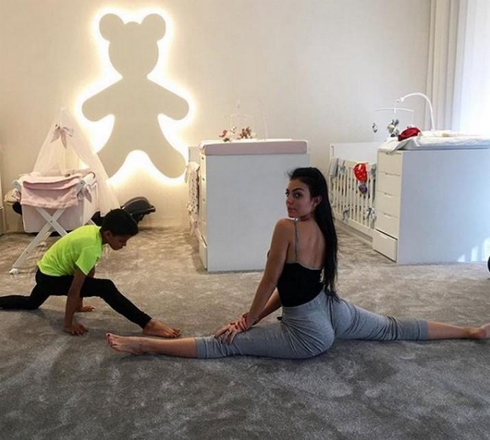 Celebrity Babies: Cristiano Ronaldo and Georgina's Nursery Room