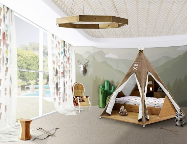 Kids Bedroom Ideas: Have some Tribal Fun with the Teepee Family