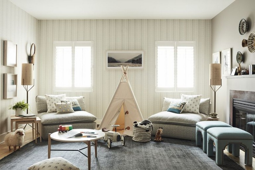 Celebrity Homes Celebrity Homes: Lucy Liu's Kids Playroom is Perfect for Everyone Celebrity Homes Lucy Lius Kids Playrom is Perfect for Everyone 1