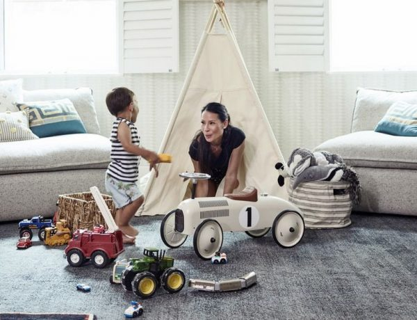 Celebrity Homes: Lucy Liu's Kids Playrom is Perfect for Everyone