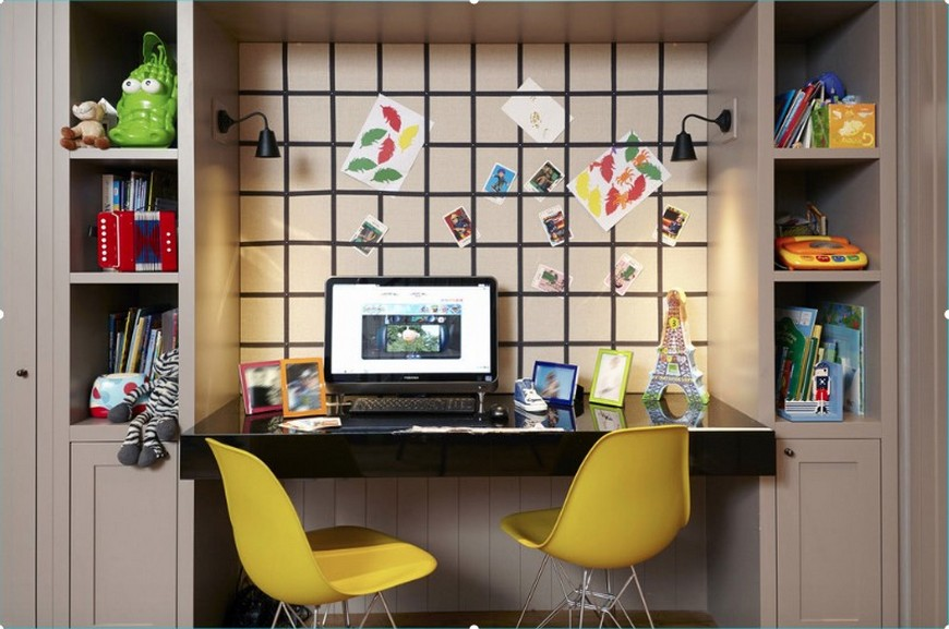 10 Study Room Ideas to Inspire Your Kid's Very Own study room ideas 10 Study Room Ideas to Inspire Your Kid's Very Own Back to School Furniture 5 Desks To do Homework in Style 3