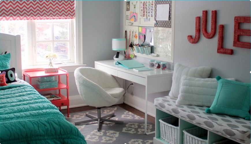10 Study Room Ideas to Inspire Your Kid's Very Own Study Room Ideas 10 Study Room Ideas to Inspire Your Kid's Very Own Back to School Furniture 5 Desks To do Homework in Style 5