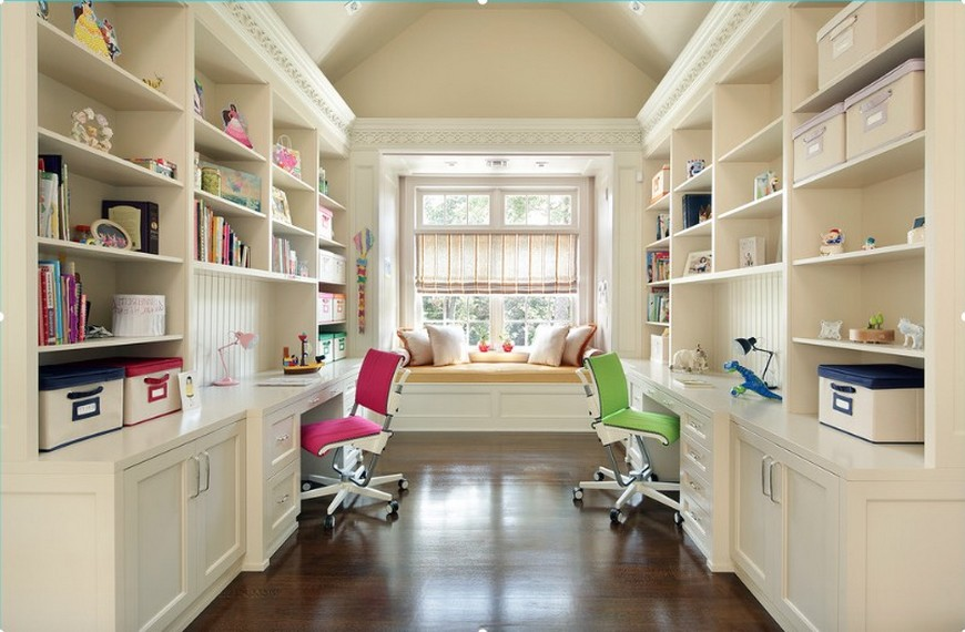 10 Study Room Ideas to Inspire Your Kid's Very Own Study Room Ideas 10 Study Room Ideas to Inspire Your Kid's Very Own Back to School Furniture 5 Desks To do Homework in Style 9