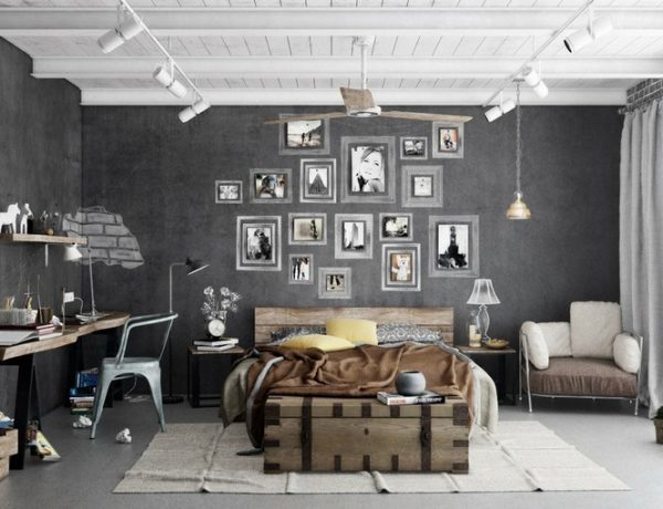 7 Industrial Kids Bedroom Designs To Impress Your Little Hipster