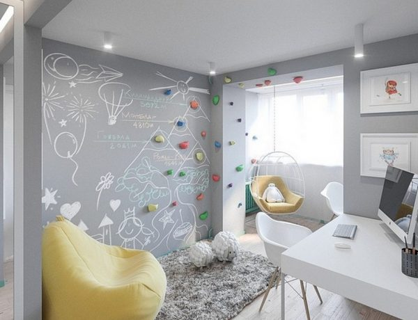Children's Bedroom Ideas - A Scandinavian Kids Room In Kiev