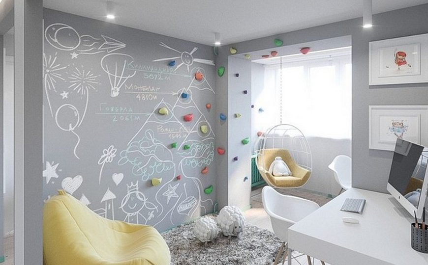 Kids Bedroom Ideas Childrens Bedroom Ideas A Scandinavian Kids Room In Kiev 10 870x540