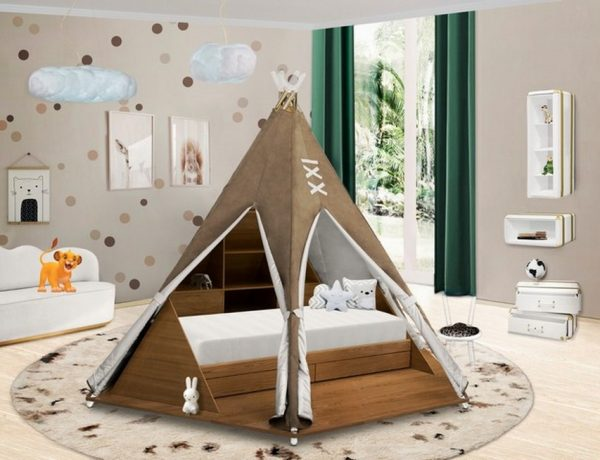 lion king inspired bedroom Give Your Kid a Lion King Inspired Bedroom With these Pieces Interior Design for Kids Viktoria Faynblats Classical Approach 1 600x460