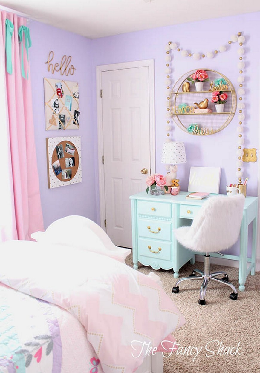 Teenage Girl Bedroom Ideas - Let Purple Rain on their Decor Teenage Girl Bedroom Ideas Teenage Girl Bedroom Ideas – Let Purple Rain on their Decor Teenage Girl Bedroom Ideas Let Purple Rain on their Decor 2