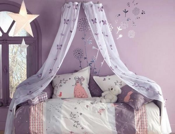 Teenage Girl Bedroom Ideas - Let Purple Rain on their Decor