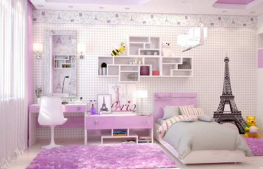 Purple Bedroom Ideas For Teenage Girl.Teenage Girl Bedroom Ideas Let Purple Rain On Their Decor