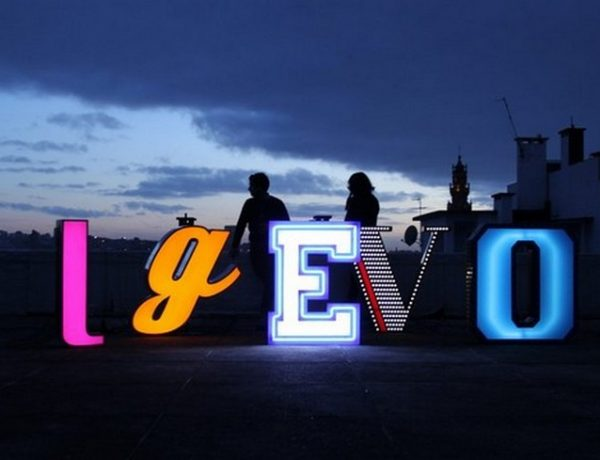 These Neon Signs Like Letters are Perfect for your Children's Bedroom