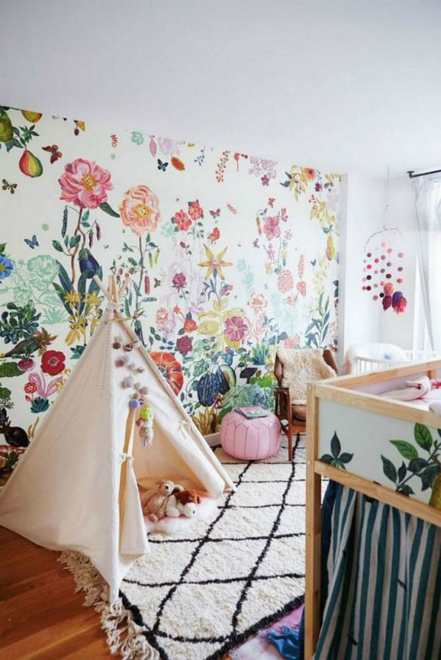 Floral Kids Bedroom Decor Is one of the Strongest Spring Trends 2019 Spring Trends 2019 Floral Kids Bedroom Decor Is one of the Strongest Spring Trends 2019 Floral Kids Bedroom Decor Is one of the Strongest Spring Trends 2019 1