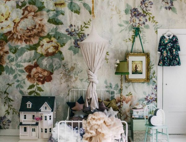 Floral Kids Bedroom Decor Is one of the Strongest Spring Trends 2019