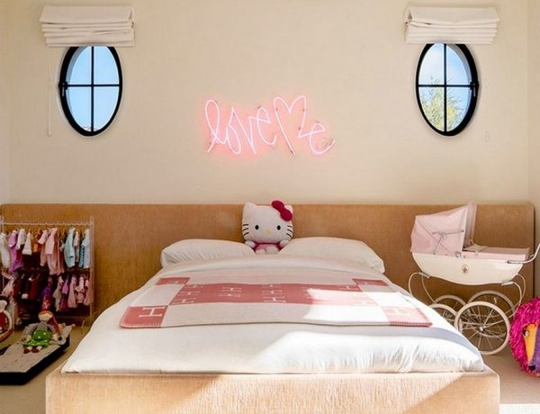 Celebrity Kids Bedrooms - Penelope Disick's Dreamy Decor