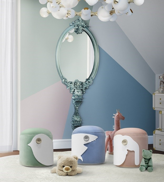 Wall Decor Ideas for Kids creative Creative Wall Decor Ideas that your Kids will love mirror