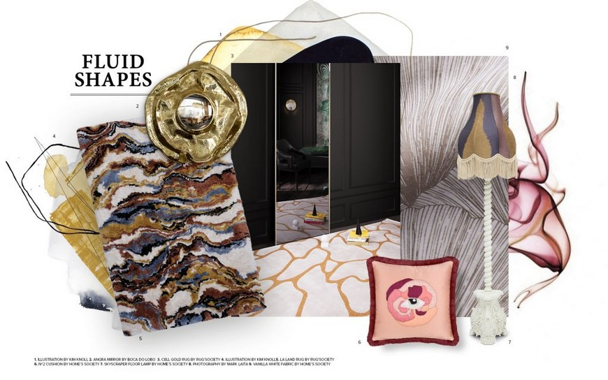 Interior Design Trends 2019 - The Fluid Shapes are Here to Stay interior design trends 2019 Interior Design Trends 2019 – The Fluid Shapes are Here to Stay Fabinteriors Studio in India Creates Some Dreamy Kids Rooms 4 1