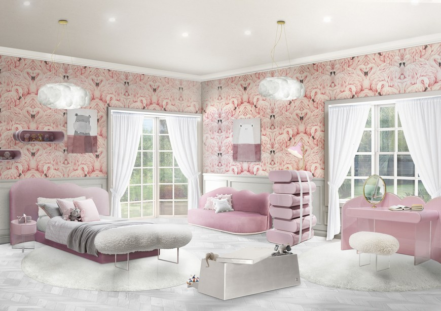 interior design trends 2019 Interior Design Trends 2019 – The Fluid Shapes are Here to Stay Fabinteriors Studio in India Creates Some Dreamy Kids Rooms 7