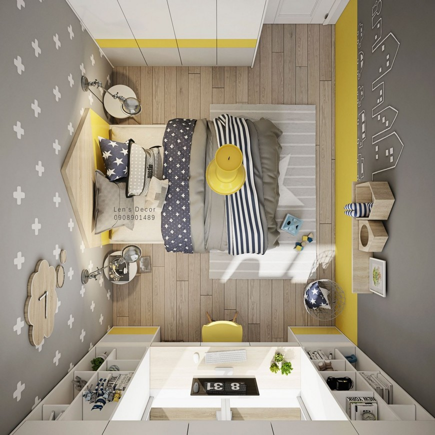 Kids Bedroom Decor Ideas - Time to go Yellow kids bedroom decor ideas Kids Bedroom Decor Ideas – Time to go Yellow Kids Bedroom Decor Ideas Time to go Yellow 4