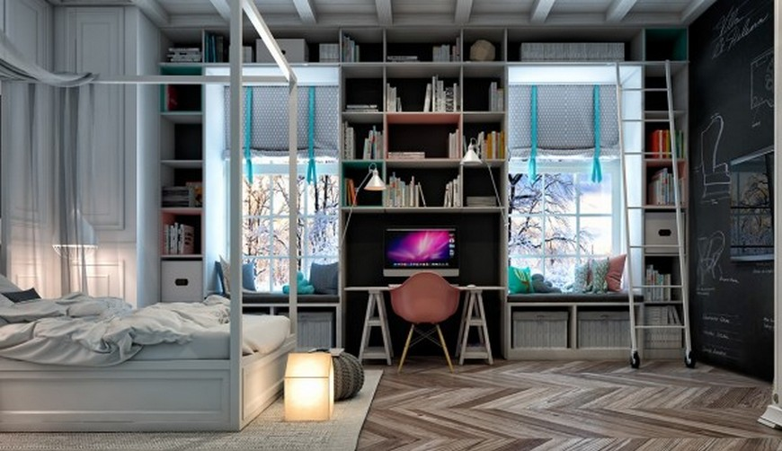 Teen Bedroom Ideas - 4 Bedrooms Perfect for Creative Youngsters teen bedroom ideas Teen Bedroom Ideas – 4 Bedrooms Perfect for Creative Youngsters Teen Bedroom Ideas 4 Bedrooms Perfect for Creative Youngsters 1