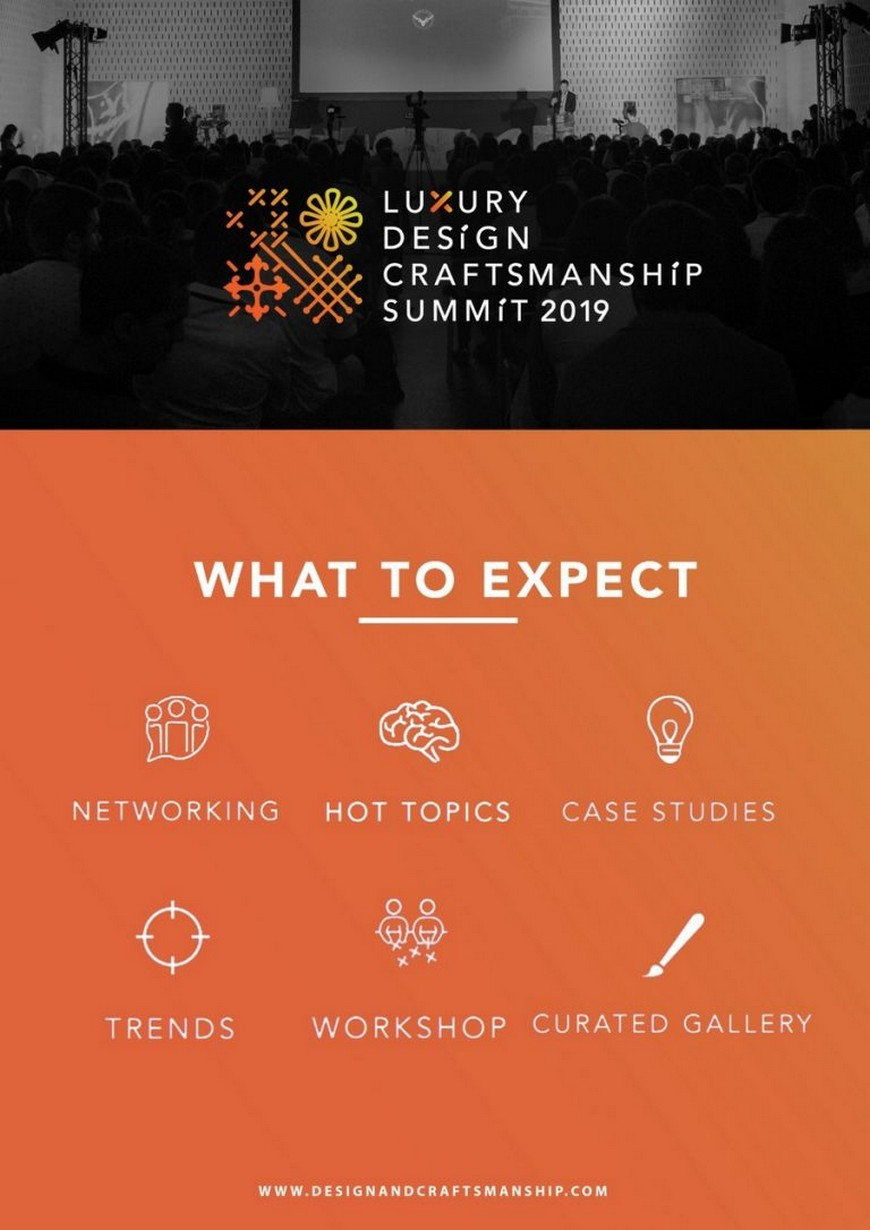 luxury design and craftsmanship summit The 2nd Edition of the Luxury Design and Craftsmanship Summit is Here The 2nd Edition of the Luxury Design and Craftsmanship Summit is Here 4