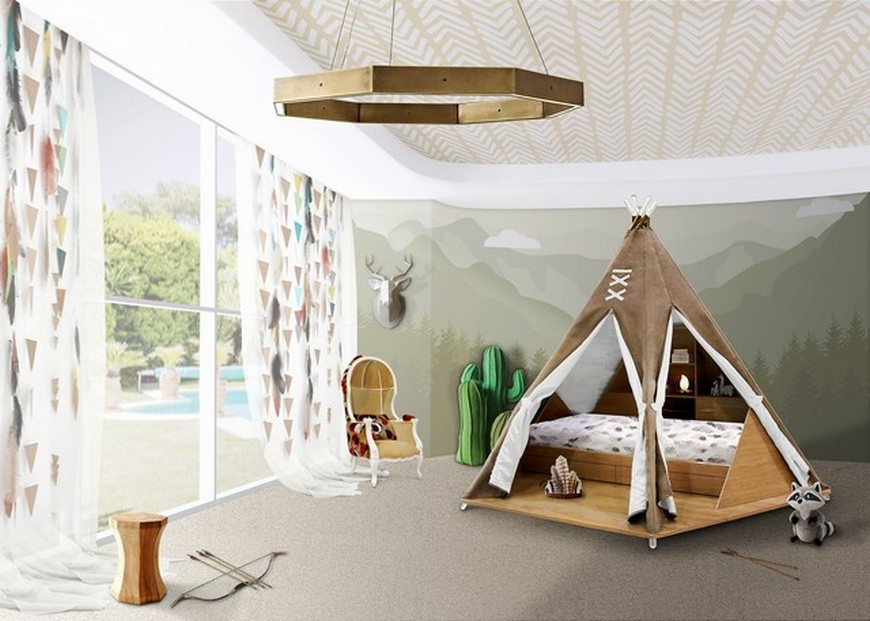 Decor for Kids Ideas - Teepee Bed is Circu's Product of the Week decor for kids ideas Decor for Kids Ideas – Teepee Bed Will Take Over 2020 Decor for Kids Ideas Teepee Bed is Circus Product of the Week 1
