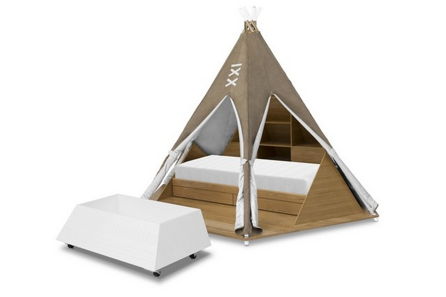 Decor for Kids Ideas - Teepee Bed is Circu's Product of the Week decor for kids ideas Decor for Kids Ideas – Teepee Bed Will Take Over 2020 Decor for Kids Ideas Teepee Bed is Circus Product of the Week 3