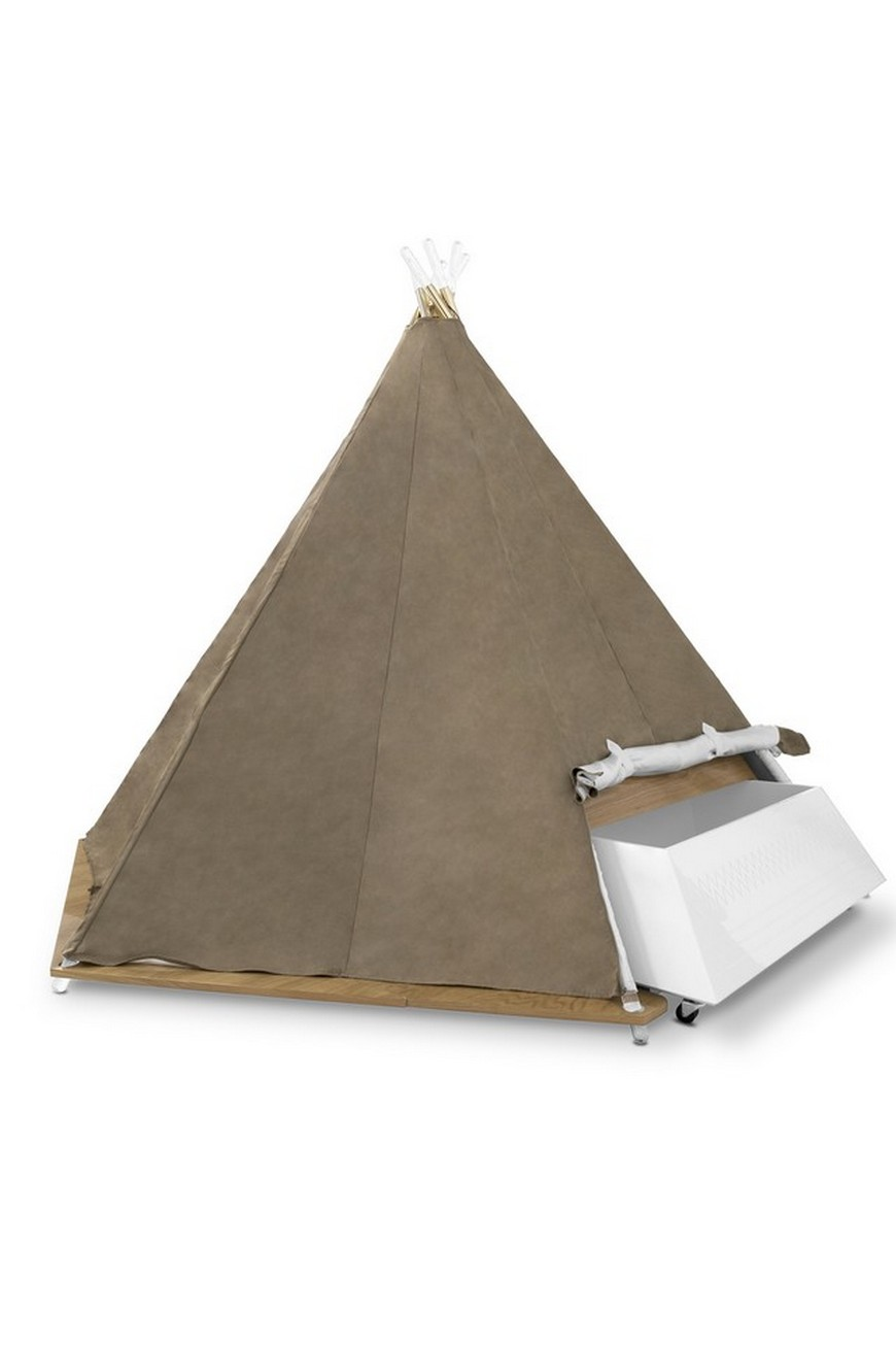Decor for Kids Ideas - Teepee Bed is Circu's Product of the Week decor for kids ideas Decor for Kids Ideas – Teepee Bed Will Take Over 2020 Decor for Kids Ideas Teepee Bed is Circus Product of the Week 4