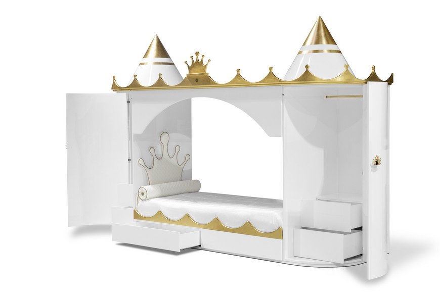 Kids Bedroom Furniture - A Castle Bed Worthy of Royalty  kids bedroom furniture Kids Bedroom Furniture – A Castle Bed Worthy of Royalty Kids Bedroom Furniture A Castle Bed Worthy of Royalty 4