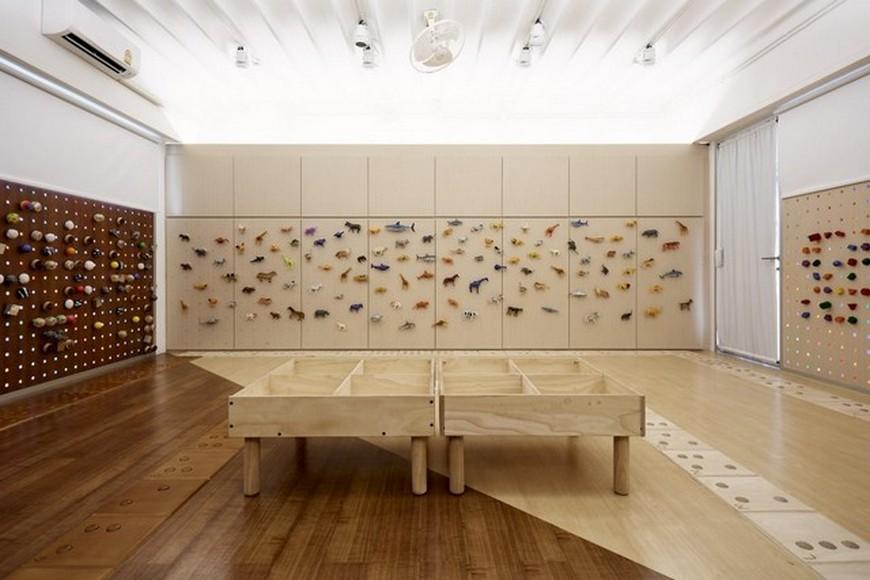 Kids Interior Design - A Tactile Classroom by Creative Crews