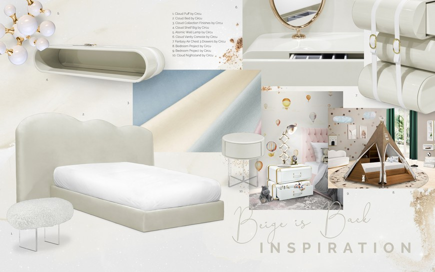 Kids Bedroom Trends – Beige is Back at Full Strenght Kids Bedroom Trends Beige is Back at Full Strenght 1