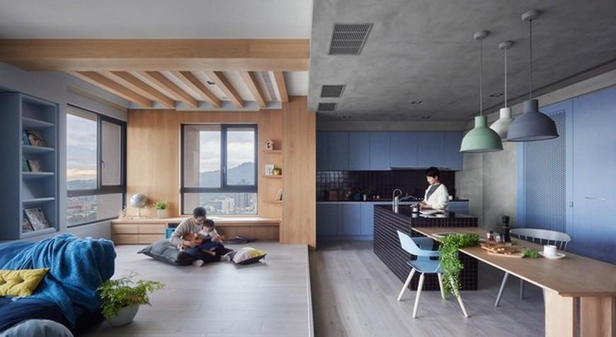 Interior Design Inspirations – Family Apartment by HAO Design Interior Design Inspirations Family Apartment by HAO Design 1