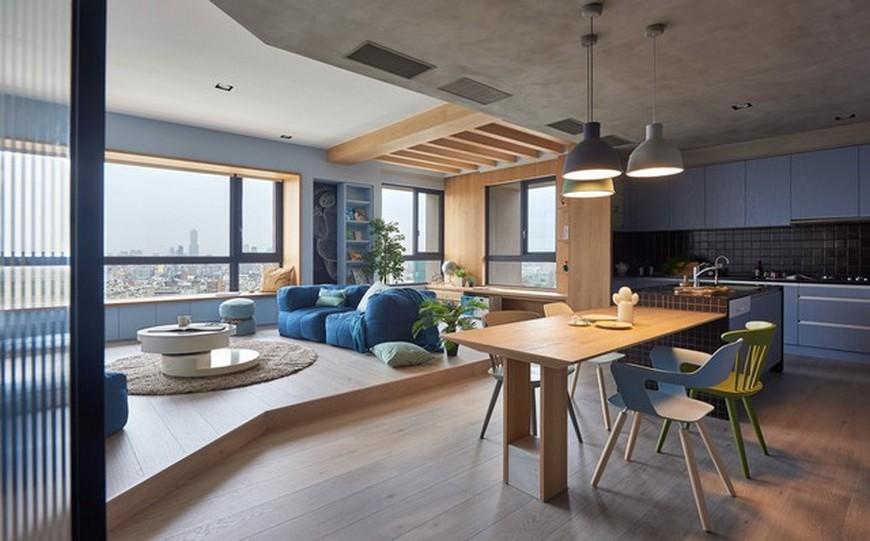 Interior Design Inspirations – Family Apartment by HAO Design Interior Design Inspirations Family Apartment by HAO Design 4